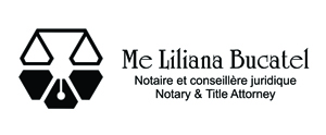 Logo de Notaire Liliana Bucatel, notaire Saint-Laurent
